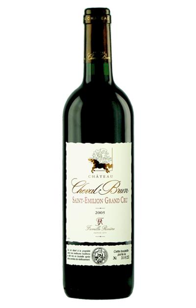 法国利维尔-棕玛堡干红葡萄酒 Château Cheval Brun AOC Saint-Emilion Grand Cru rouge