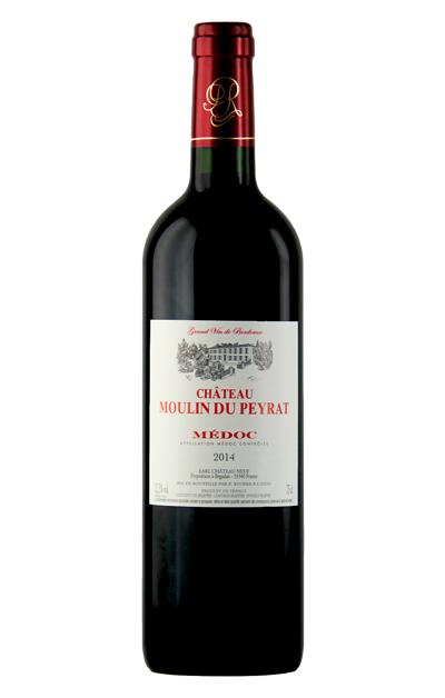 法国利维尔- 慕琳娜城堡干红葡萄酒 Château Moulin du Peyrat   AOC  Médoc