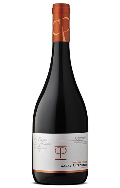 卡萨柏颂莱-珍藏嘉文利尔干红葡萄酒CASAS PATRONALES–CARMENERE RESERVA