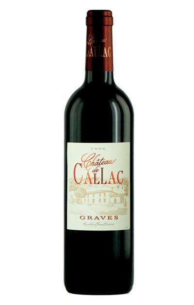 法国利维尔-卡拉城堡干红葡萄酒  Château de Callac Rouge AOC  Graves