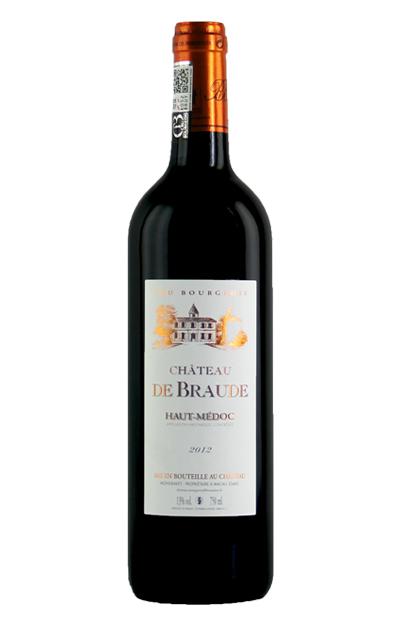 法国利维尔-布莱德城堡干红葡萄酒  Château de Braude   AOC Haut Médoc